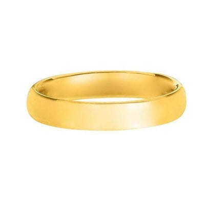 Solid 14K Yellow Gold Band 4MM