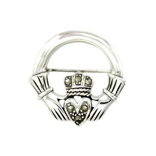 Sterling Brooch Pin: Gaelic Friendship - SilverAndGold.com Silver And Gold