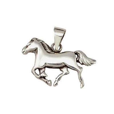 Sterling Charms: Running Horse Gelding - SilverAndGold.com Silver And Gold
