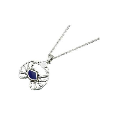 Sterling Crab (Astrological Sign for Cancer) Necklace - SilverAndGold.com Silver And Gold