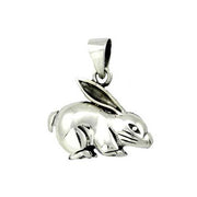 Sterling Pendant: Bunny Rabbit - SilverAndGold.com Silver And Gold