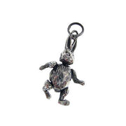 Sterling Pendant: Cute Moveable Rabbit - SilverAndGold.com Silver And Gold