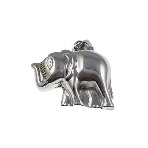 Sterling Pendant: Elephant - SilverAndGold.com Silver And Gold