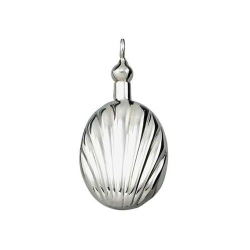 Sterling Pendant:: Ornate Shell Shaped Perfume Bottle - SilverAndGold.com Silver And Gold