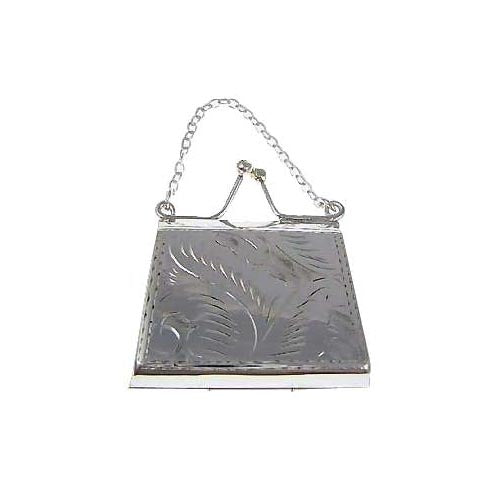 Sterling Silver Accessories: Purse Handbag Box - SilverAndGold.com Silver And Gold