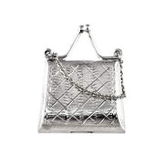 Sterling Silver: Handbag Shape Box - SilverAndGold.com Silver And Gold