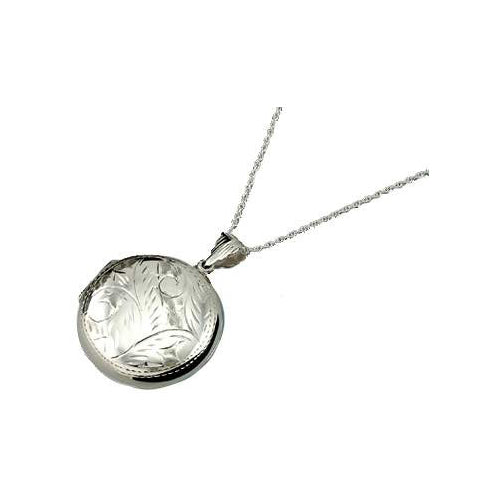 Sterling Silver Pendant Locket - SilverAndGold.com Silver And Gold