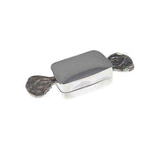 Sterling Silver: Rectangular Candy Shape Box - SilverAndGold.com Silver And Gold