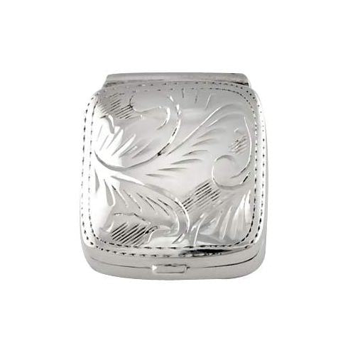 Sterling Silver: Square Keepsake Box - SilverAndGold.com Silver And Gold