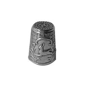 Sterling Silver Thimble: Deer - SilverAndGold.com Silver And Gold
