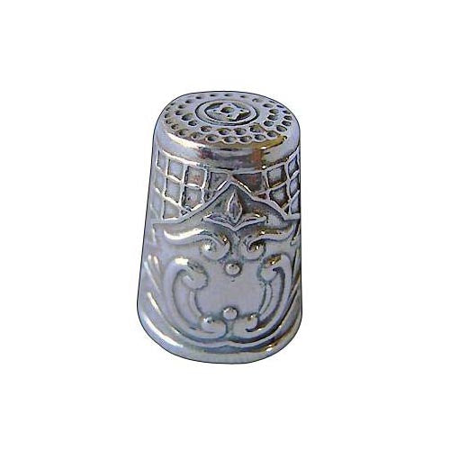 Sterling Silver Thimble: Victorian Style - SilverAndGold.com Silver And Gold