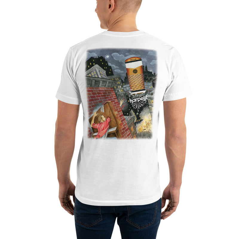 Harpejji® Illustration Premium T-Shirt new