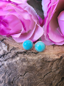 Polly Turquoise Stud - Bucklicious Designs