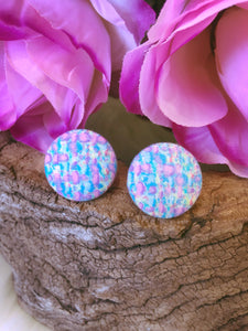 Trixie Fabric Stud - Bucklicious Designs