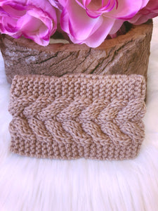 Hallie Head Warmer Nude - Bucklicious Designs