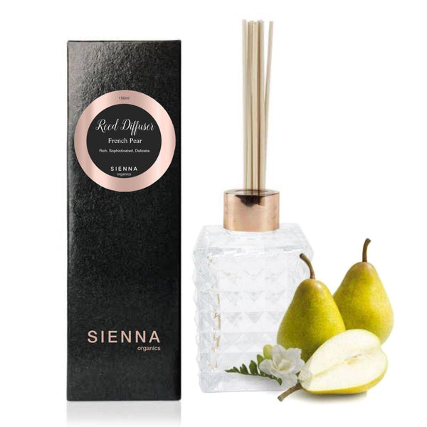 French Pear Reed Diffuser Reed Diffuser SIENNA Organics