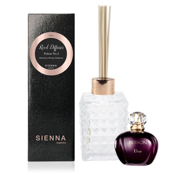 Poison No.2 Reed Diffuser Reed Diffuser SIENNA Organics