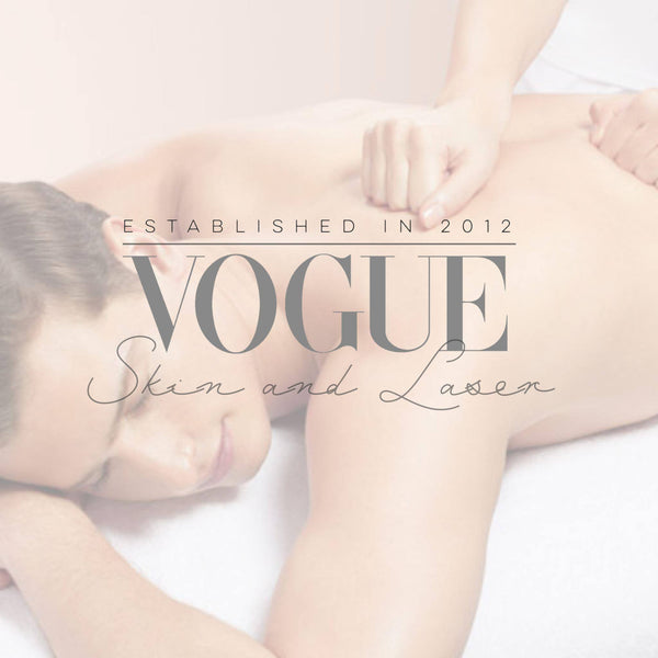 Men's Treatment Package Relax & Recover Men's Package -Vogue Skin and Laser Clinic