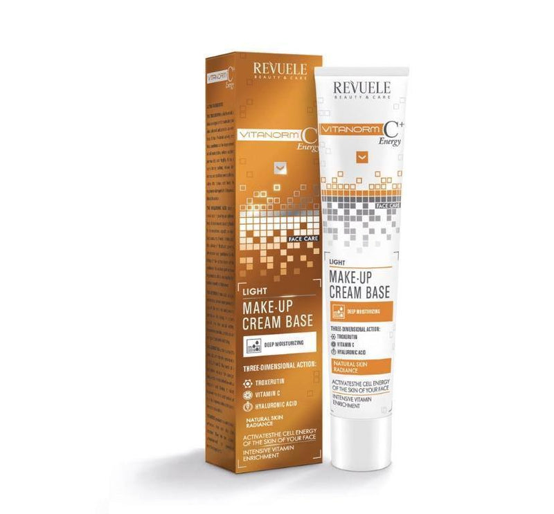 Professional Skincare Vitanorm C+ Energy Light make-up Cream Base -Revuele