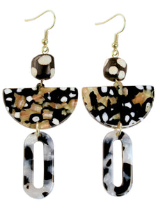SEVAN Spotted Lucite Earring