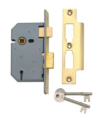 Union 2277 - 3 Lever Mortice Sash Lock