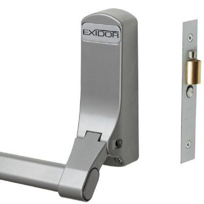 Exidor 305  - Panic Mortice Actuator with Cylinder Mortice Night Latch