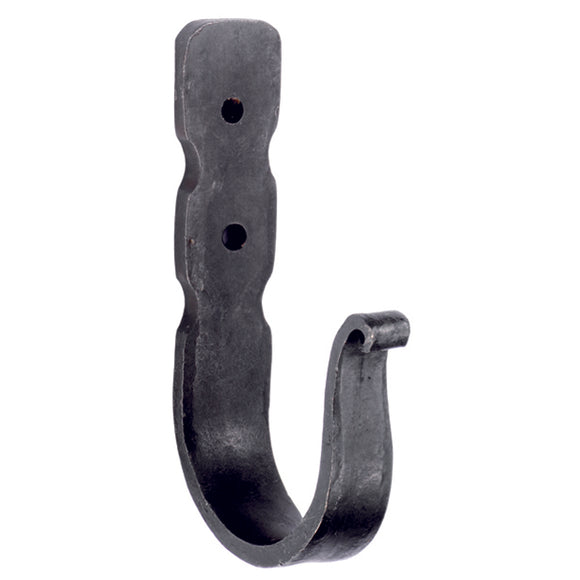 Hand Forged Beeswax Robe Hook