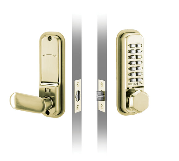 CL255 - MORTICE LATCH - Premium light duty mechanical lock with mortice latch.