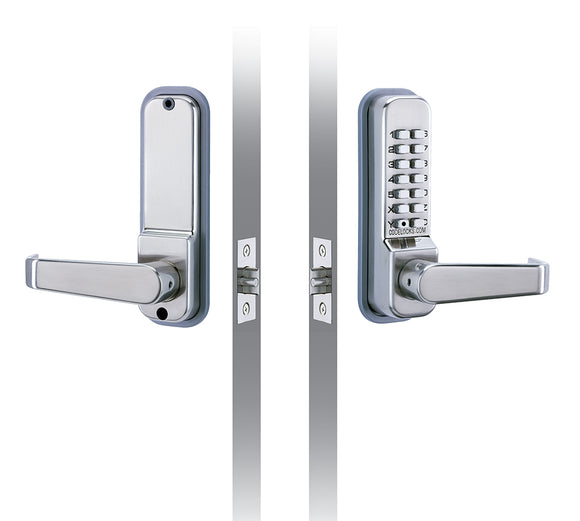 CL410 & CL415 - TUBULAR MORTICE LATCH - Medium duty mechanical locks with full size lever handles and code free option.