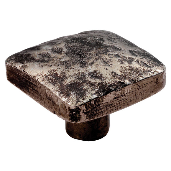 Hammered Effect Square Knob