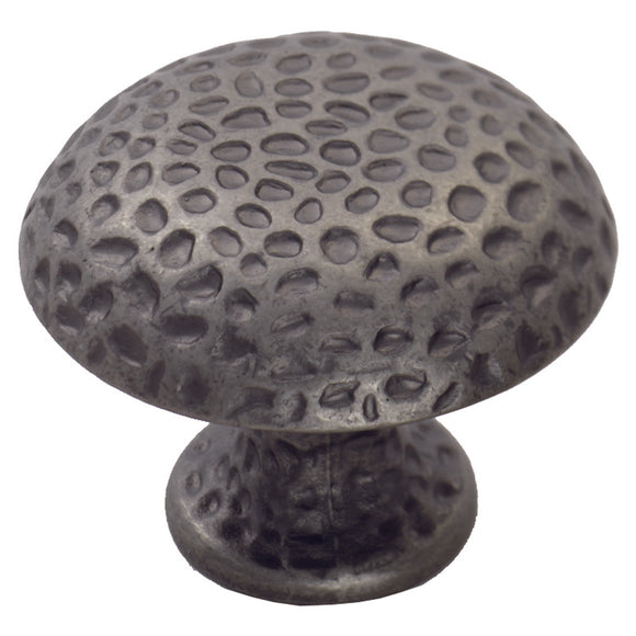 Hammered Finish Knob