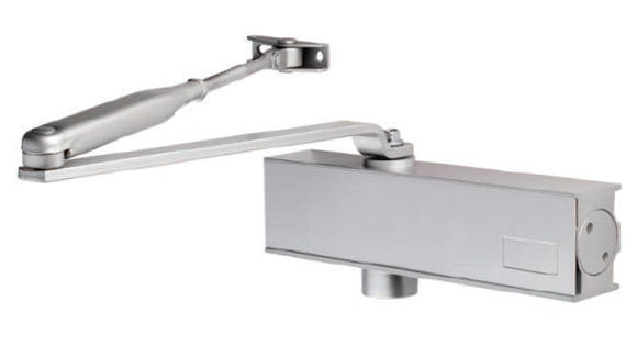 OVERHEAD DOOR CLOSER ADJUSTABLE SIZE 2-4 TEMPLATE C/W FIG 66 BRACKET