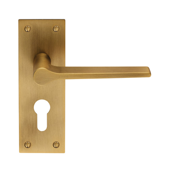 VELINO LEVER ON BACKPLATE  - EURO 47.5MM
