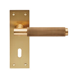 VARESE LEVER ON BACKPLATE  - LOCK 57MM