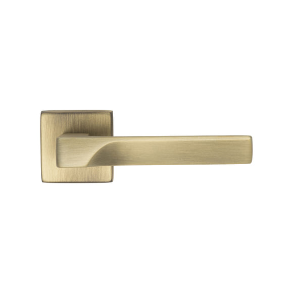 FLASH LEVER ON CONCEALED FIX SQUARE ROSE BGO (BRUSHED BRONZE MATT)