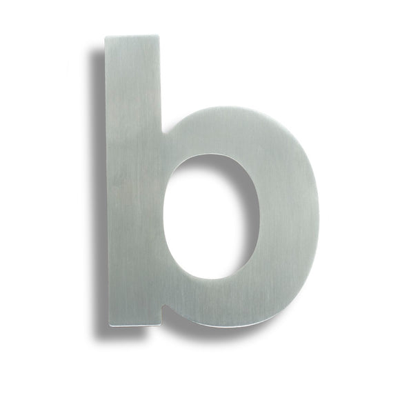 118 X 84 X 2MM LETTER B - CONCEALED PIN FIT G316