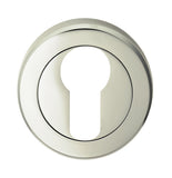 SEROZZETTA EURO PROFILE ESCUTCHEON ON CONCEALED FIX ROUND ROSE