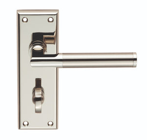 SEROZZETTA SESSANTA LEVER ON BACKPLATE - BATHROOM 57MM