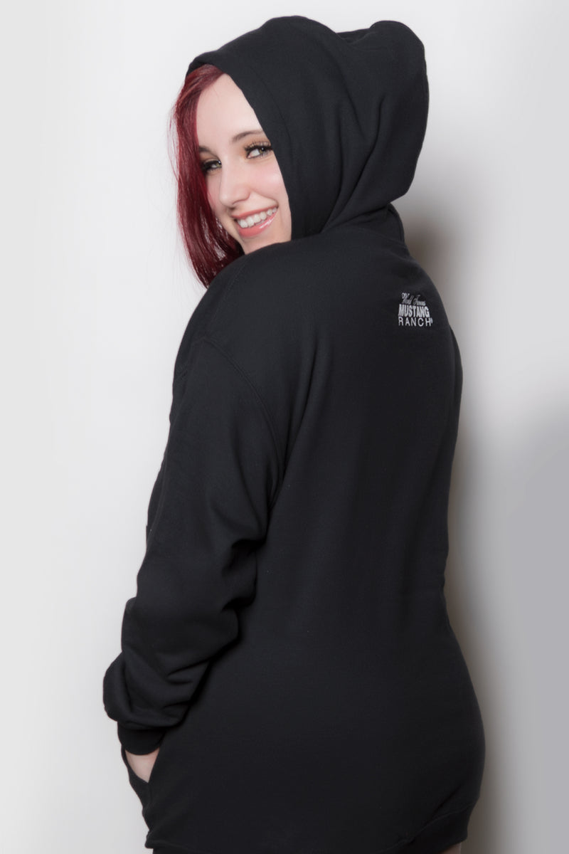 Unisex Pull-over Hoodie with Lady Logo