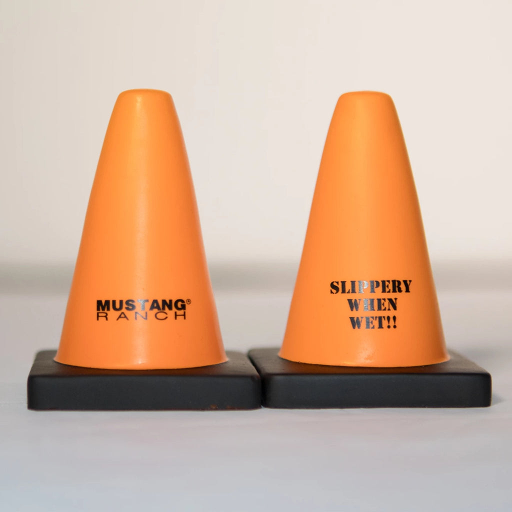"Stress Relieving Cone ""SLIPPERY WHEN WET!!"""