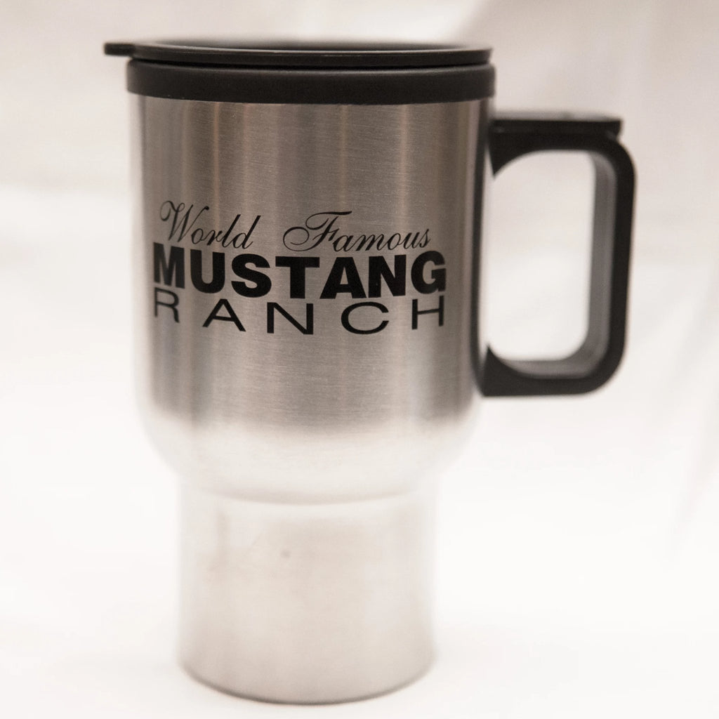 Mustang Ranch Stainless Steel Travel Mug