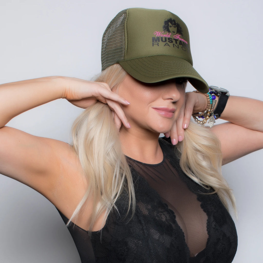 Mustang Ranch Logo Trucker Hat