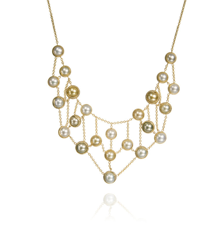 Todd Reed pearl necklace