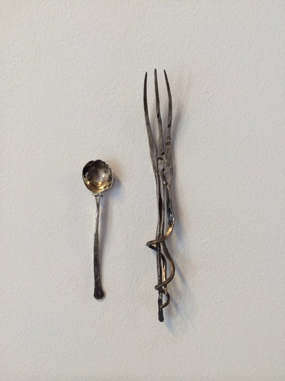 Todd Reed BMOCA Exhibit silverware feature