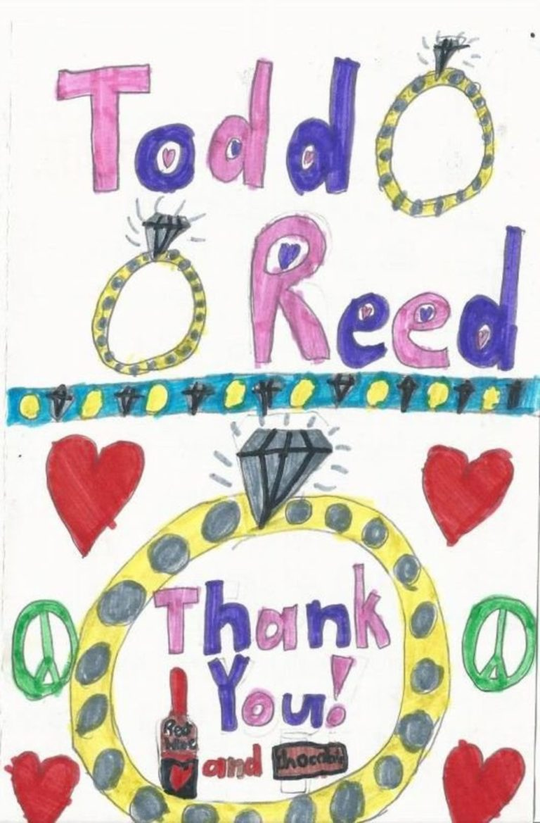 Thank You Todd Reed