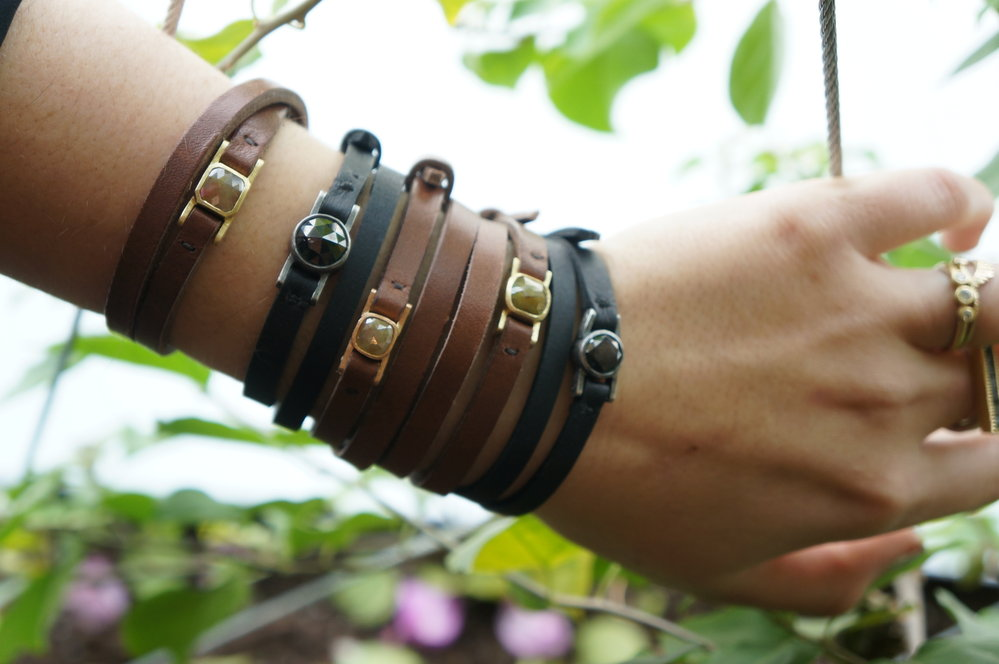 Todd Reed leather bracelets