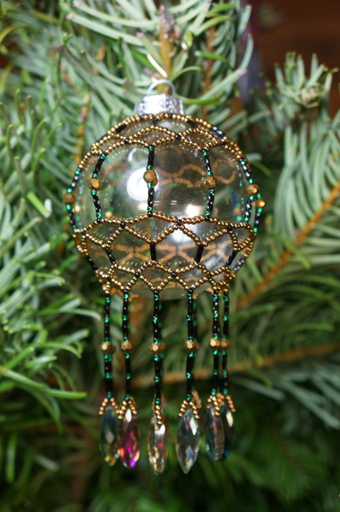 handbeaded ornament