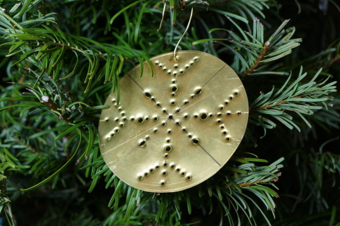 gold ornament