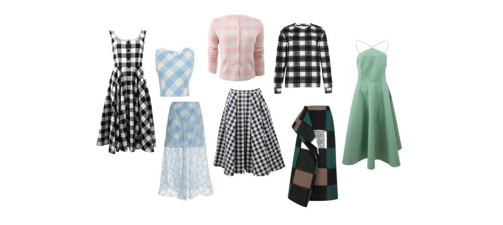 Gingham spring trend clothes