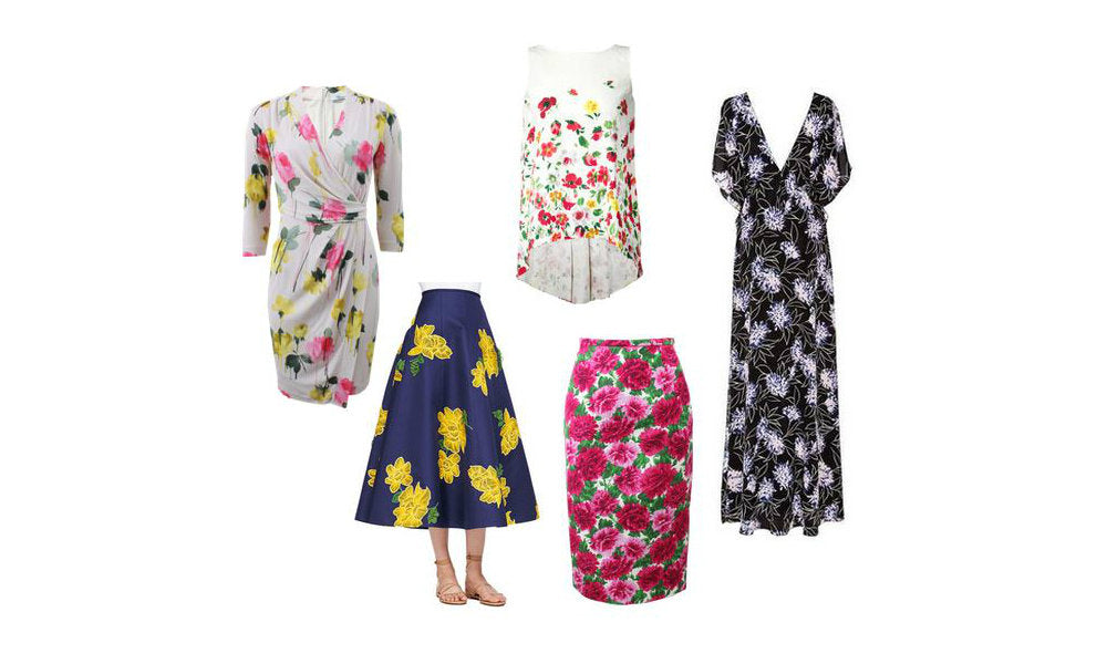 Floral spring trend clothes